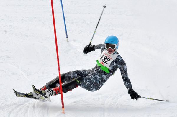 skiiers ski test