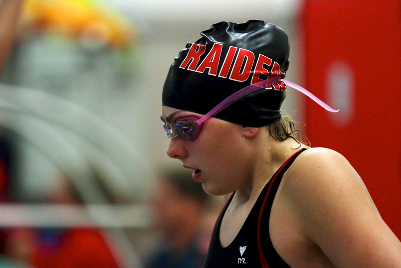 Corrin Van Lanen preparing for a race at the 2011 FRCC Championships.