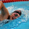 Corrin on her way to victory in the 200 Free at the FRCC Meet in 2011