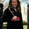 "<a href=""http://www.dailyprincetonian.com/2008/12/02/22274/""><i>The Daily Princetonian,</i> December 2, 2008 - ""Junior harrier breaks barriers""</a>  Caption: Junior Liz Costello's fall season included a second consecutive individual Ivy League title."