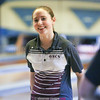 Odessa's Jackie Vincent during the bowling match with Groton, Friday, Jan. 6.
