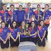 The Penn Yan girls bowling team at Waterloo.