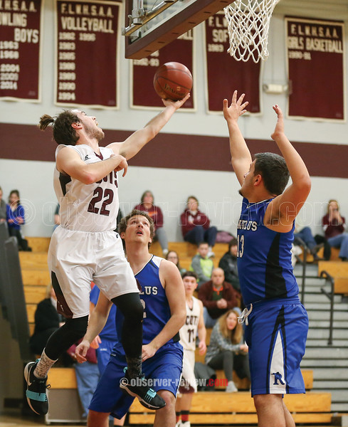 Wylie Hall shoots for the Scots, Thursday, Dec. 14 against Romulus.