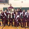 The Odessa-Montour wrestling team won the Section IV Class D championship, Saturday, Feb. 4. PROVIDED •  Loretta Marsiglio