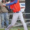 Penn Yan's John Travis at bat in the game against Midlakes Wednesday, April 12.