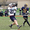 Joe Chedzoy looks to make a pass in the Saturday game against Marcus Whitman.
