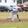 Josh Updyke fields a grounder during the game last week.