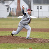Michael Doane pitches for the Seneca Indians, Thursday, March 30 at Odessa.