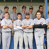 The Dundee varsity baseball team has a team photo taken at the conclusion of the game against Marcus Whitman.