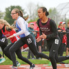 Nadia Simpson took first in the 100 meter dash and 200 meter dash for Odessa-Montour, Saturday, May 13. File Photo