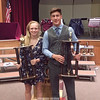 The Harold Lynch Athlete of the Year Awards were presented to Sage Garrison and Andy Fudala. Photo provided