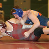 Penn Yan's Coty Bailey (right) works to pin Dundee's Kenneth Empson (left), Friday, Jan. 26.
