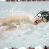 Brett Walters swims in the 50 free, which he won last week.
