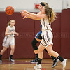 Karynna Rutledge reaches for the ball in the game against Romulus last week.