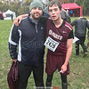 Dundee's Matt Wood competed, Saturday, Oct. 27. He is pictured with coach Patrick Dunham (left). PHOTO PROVIDED