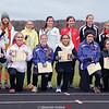 The girls at the Interscholastic Athletic Conference championship who won awards pose for a photo, Friday. PHOTO PROVIDED