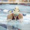 Tori Reese competes in the breaststroke event for Odessa.