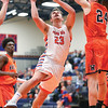 Penn Yan's Conner Fingar goes up to shoot, Friday, Dec. 14 against Waterloo.