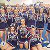 The Watkins Glen varsity cheerleading squad claimed first place at the Interscholastic Athletic Conference (IAC) Championship, Saturday, Feb. 10. Photo Provided