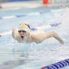 Jake Mayette competes in the 100 butterfly for Odessa last week at the prelims.