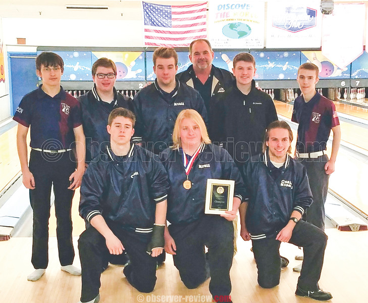 The Watkins Glen boys bowling team won the Interscholastic Athletic Conference (IAC) Championship, Saturday, Feb. 3. PROVIDED