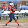 Melanie Gleason bats during the game against Waterloo last week.