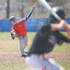 Donny McMahon delivers a pitch for Penn Yan, Saturday, April 21.