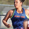 """Emma Harling placed first in the shot put with a 33'10"""" throw at Marion."""