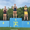 Isobel Scheffey on the first place podium for Watkins Glen at the IACs. Photo Provided