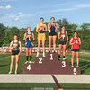 Isobel Scheffey took first in the 200 and 400 meter dash last week. PHOTO PROVIDED