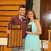 "Mackenzie Strait won the Pauline ""Polly"" Strait Female Athlete of the Year Award."