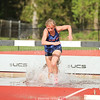 Maci Nicholson will advance to the state championship after winning the 2000 meter steeplechase last Friday. FILE PHOTO