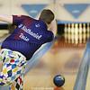 H. Nathaniel Rose rolls the ball for Watkins Glen, Friday, Jan. 18.