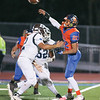Mekhi Mahan gets a throw off before being tackled Friday Oct. 11.
