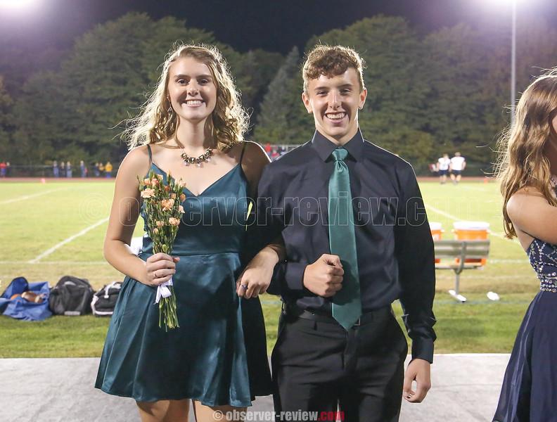 Hannah Chapman and Brett Walters.