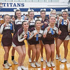 Dundee cheerleading takes first