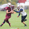 Brady Richardson recorded three touchdowns in the game against Frewsburg, Friday, Oct. 25. FILE PHOTO