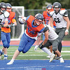 Brennan Prather moved to the number two highest scorer in Penn Yan football history with his two touchdowns last week. FILE PHOTO