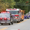 Hammondsport Central School celebrated homecoming, Friday, Oct. 4. The annual parade through the village was held in the evening and featured floats designed by students and teachers.