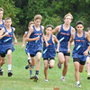 The Penn Yan boys runners get underway in the competition last week. Dusty Blumbergs Photo