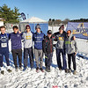 The Watkins Glen boys varsity cross country team at the state finals. PHOTO PROVIDED