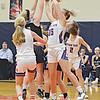 Penn Yan's Jenna Curbeau grabs for a rebound, Friday, Dec. 13. DUSTY BLUMBERGS PHOTO