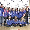 The Penn Yan girls bowling team at sectionals. Photo Provided.