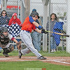 Peyton Schuck connects for a single, Friday, May 10.