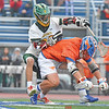 Penn Yan's Conner Fingar battles for a ground ball in the semifinal game Wednesday, June 5. DUSTY BLUMBERGS PHOTO