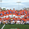 The Penn Yan boys lacrosse team poses with their sectional trophy last week.