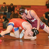 Gabe Williams wrestles for Odessa in the match last week.