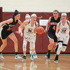 Grace Vondracek steals the ball and drives to the basket, Friday, Jan. 17.