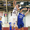 Max Evans goes to the basket for Watkins Glen in the game against Trumansburg, Friday, Jan. 17.