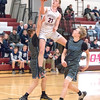 Paden Grover gets fouled as he soars to the basket last week.